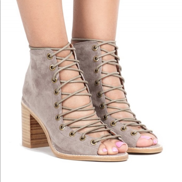 Jeffrey Campbell Lace Up Heels